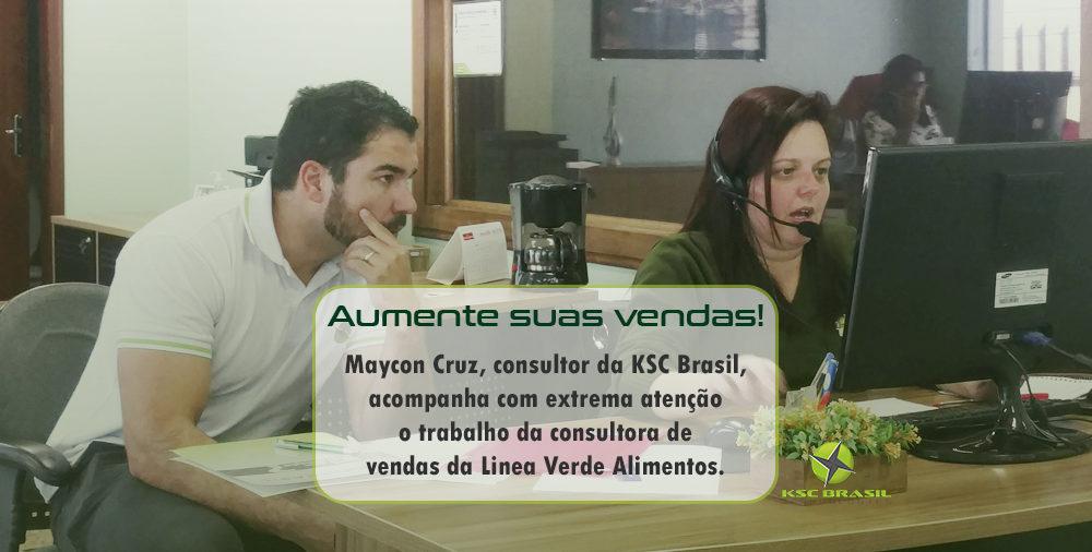 KSC Brasil auxilia setor comercial da Linea Verde Alimentos